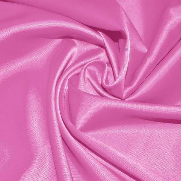 Атлас стрейч ярко-розовый оптом