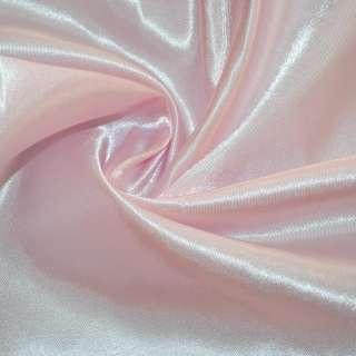 Атлас розово молочный ш.150 оптом