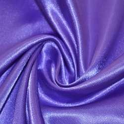 Атлас фиолетово-молочный ш.150 оптом