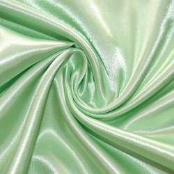 Атлас бледно-салатовый ш.150 оптом