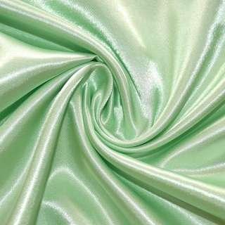 Атлас бледно салатовый ш.150 оптом
