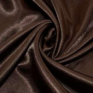 Атлас темно коричневый ш.150 оптом