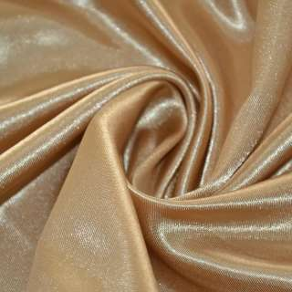 Атлас коричнево-золотистый ш.150 оптом