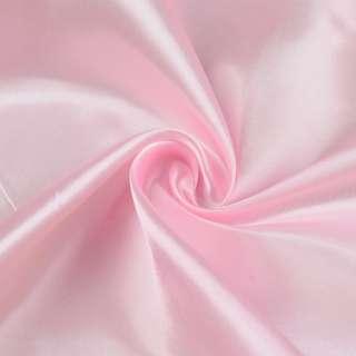 Атлас рожевий світлий ш.150 оптом