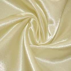 Атлас молочно-желтый ш.150 оптом