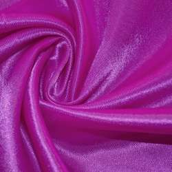 Атлас ярко-розовый с белым ш.150