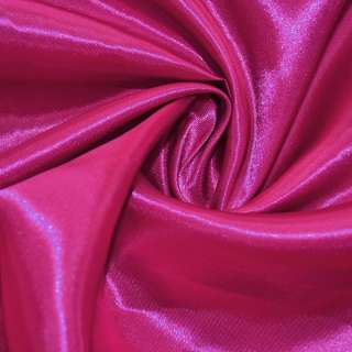 Атлас розово-малиновый ш.150 оптом