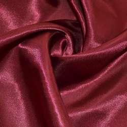 Атлас вишневый темный ш.150 оптом