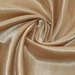 Атлас бежево-коричневый ш.150 оптом