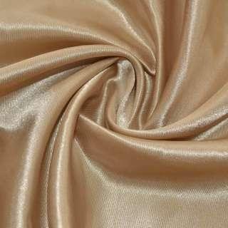 Атлас бежево-коричневий ш.150 оптом