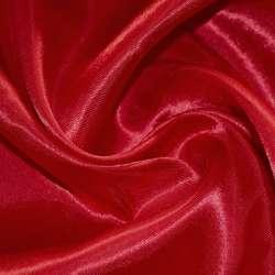 Атлас красный темный ш.150 оптом