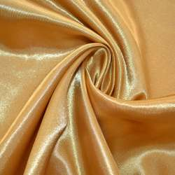 Атлас темное золото ш.150