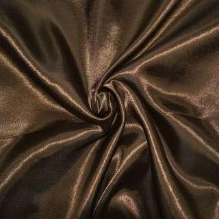 атлас коричневый оптом