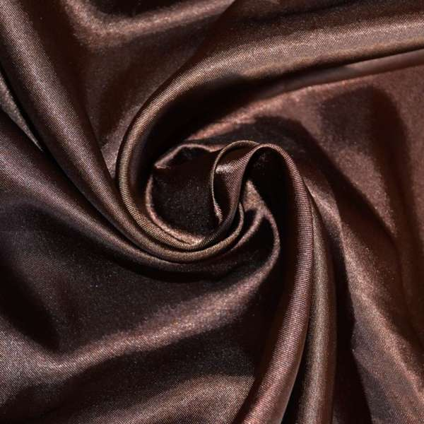 Атлас коричневый темный ш.150 оптом