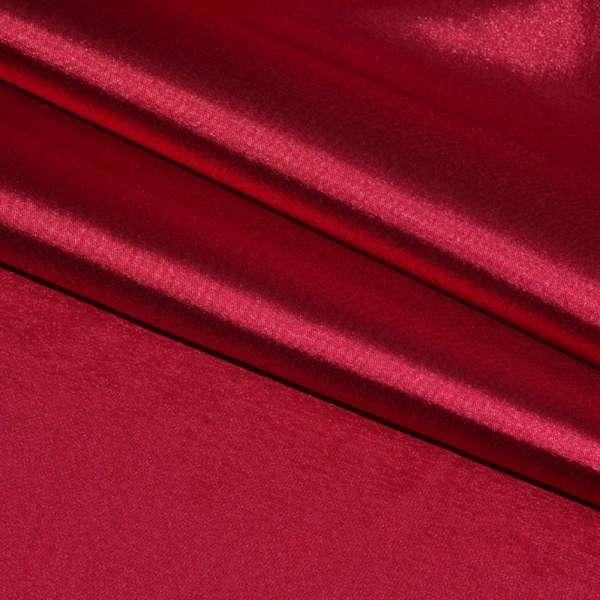 Атлас стрейч красный ш.150 оптом