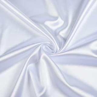 Стрейч атлас белый ш.150 оптом