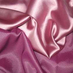 Атлас стрейч хамелеон розово-малиновый ш.150