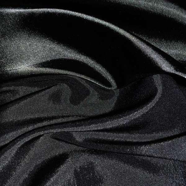 Атлас стрейч хамелеон черный ш.150 оптом