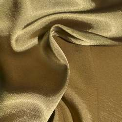 Атлас стрейч хамелеон бежево-оливковый ш.150