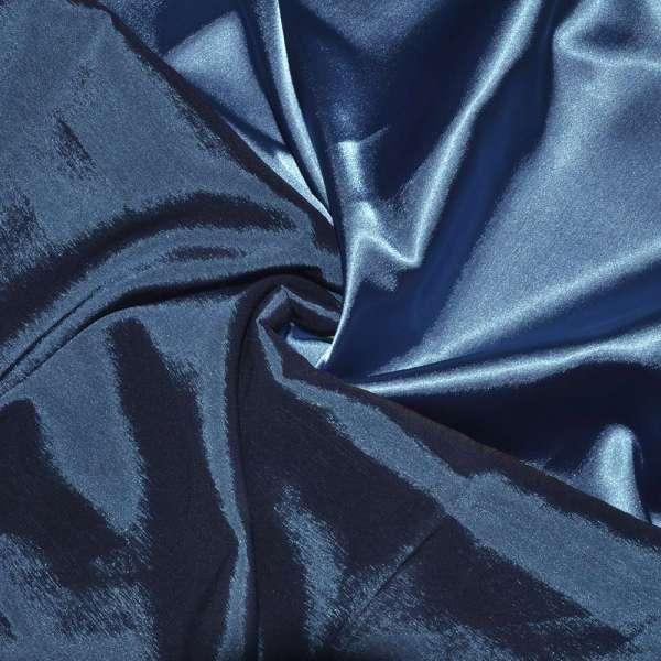 Атлас стрейч хамелеон голубой ш.150 оптом