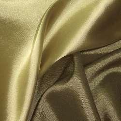 Атлас стрейч хамелеон зелено-золотой ш.150