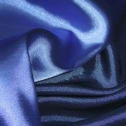 Атлас стрейч хамелеон сине-голубой ш.150