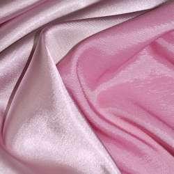Атлас стрейч хамелеон розово-молочный ш.150 оптом
