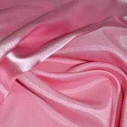 Атлас стрейч хамелеон розовый ш.150