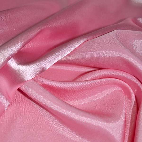 Атлас стрейч хамелеон розовый ш.150 оптом