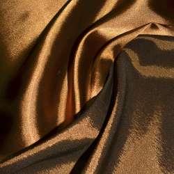 Атлас стрейч хамелеон темно-рыжий ш.150 оптом
