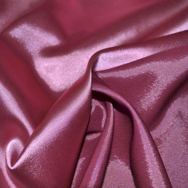 Атлас стрейч хамелеон розово-бордовый ш.150 оптом