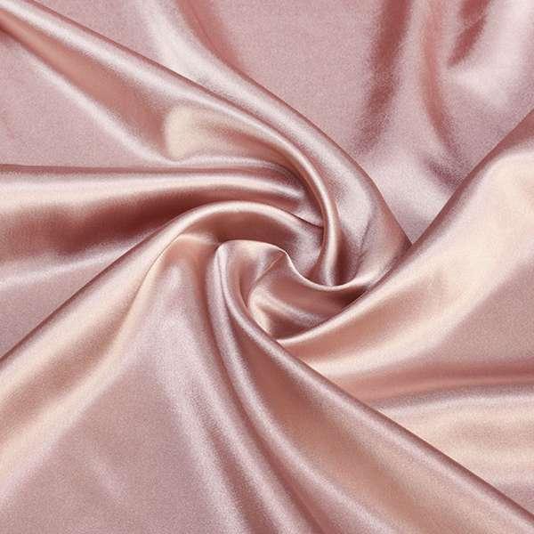 Атлас стрейч шамус розовый с коричневым оттенком ш.150 оптом