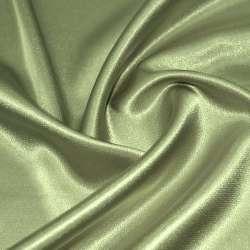 Атлас стрейч шамус оливково-бежевый ш.150 оптом