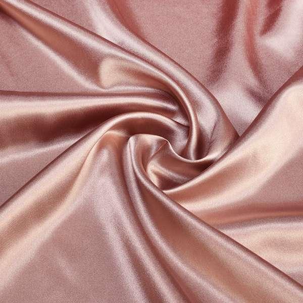 Атлас стрейч шамус розово-серый ш.150 оптом