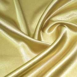 Атлас стрейч шамус желто-серый ш.150 оптом