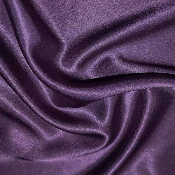 Атлас стрейч шамус фиолетово-перламутровый ш.150 оптом
