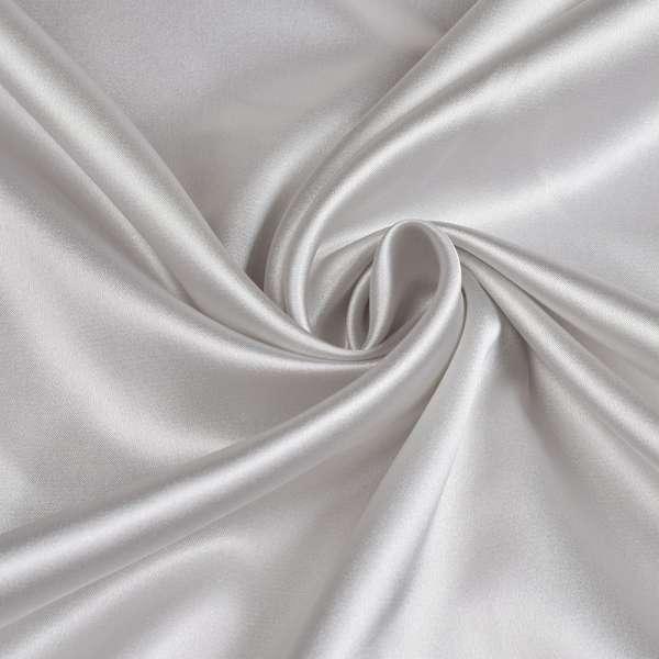 Атлас стрейч шамус серый светлый ш.150 оптом