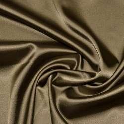 Атлас стрейч шамус коричневый с белым отливом ш.150 оптом