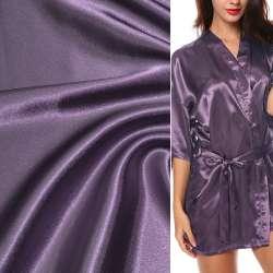 Атлас стрейч шамус сиренево-фиолетовый ш.150 оптом
