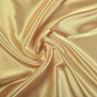 Стрейч атлас шамус золотистый ш.150 оптом