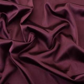 Атлас стрейч шамус бордовый темный ш.150 оптом
