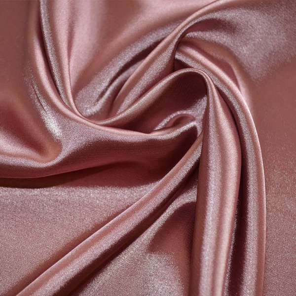Атлас стрейч шамус розовый пл.130 г/м ш.150 оптом