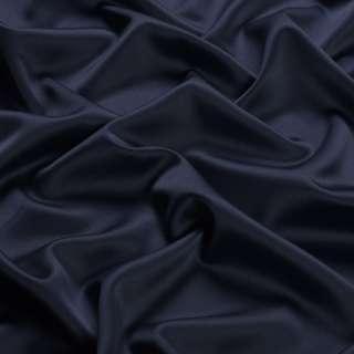 Шовк японський стрейч синій темний ш.150 оптом