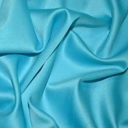 Шелк японский стрейч ярко-голубой ш.150 оптом
