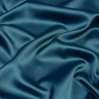 Шелк японский стрейч сине-зеленый ш.150 оптом