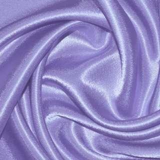 Креп сатин фиолетово сиреневый ш.150 оптом