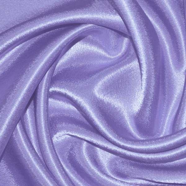 Креп сатин фиолетово-сиреневый ш.150 оптом