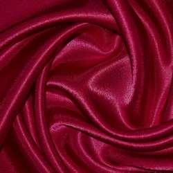 Креп сатин вишневый ш.150