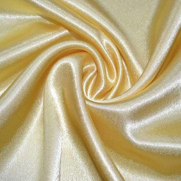 Креп сатин желтый ш.150 оптом