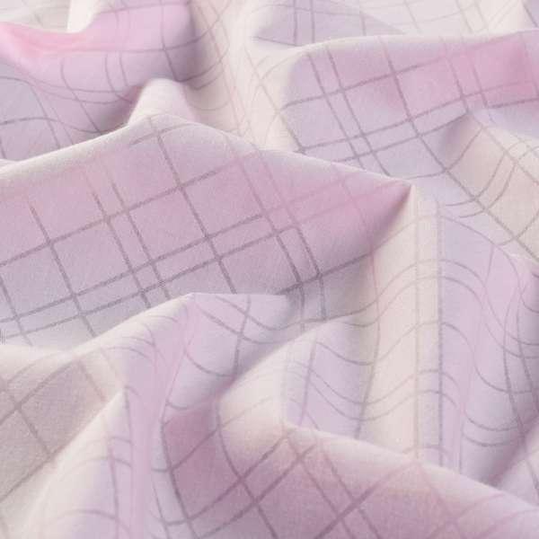 Батист розовый в ромбы ш.150 оптом